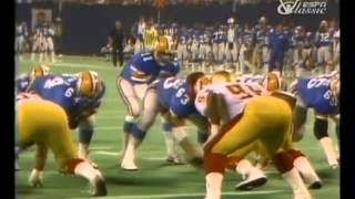 1985 USFL Championship Game - Baltimore Stars vs Oakland Invaders