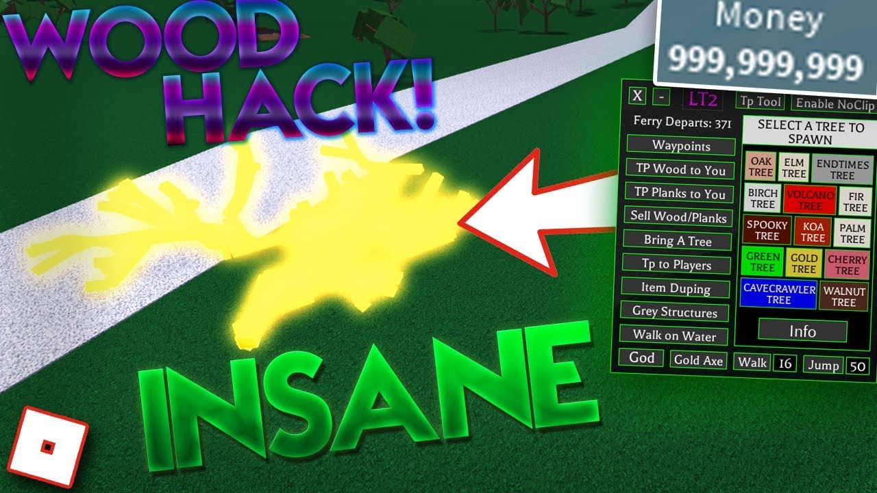 Insane Lumber Tycoon 2 Unlimited Wood Item Dupe Hack Exploit Money Hack Roblox 2018 - roblox lumber tycoon 2 wire art hack