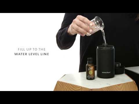 How To Use AromaRoam, Ultrasonic Diffuser I Canada