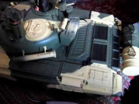 Танк Т-72 - Пульт радиоуправления и набор WiFi