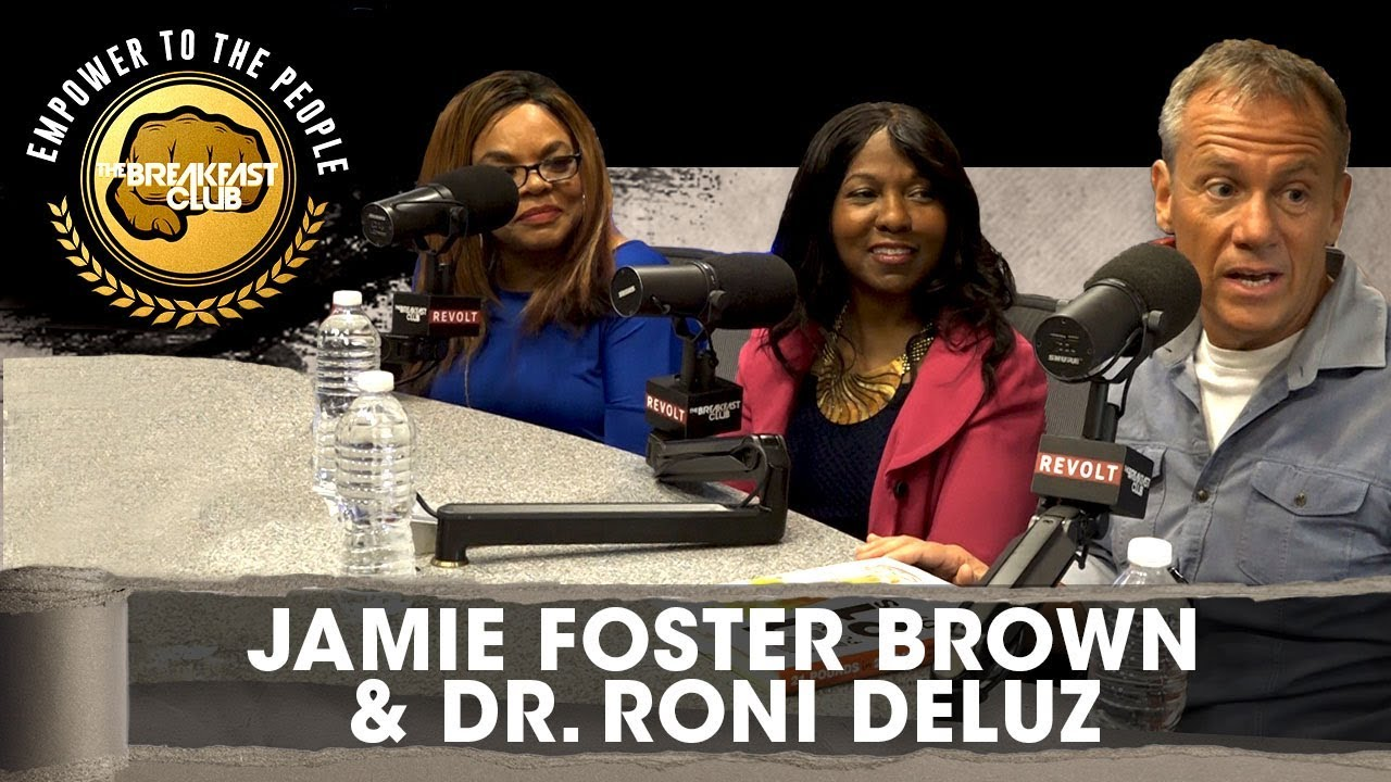 jamie-foster-brown-dr-roni-deluz-talk-healthy-dieting-21-pounds-in-21-days