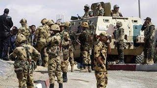 سقوط 18 مسلحا في حملة عسكرية للجيش المصري في سيناء - أخبار الآن