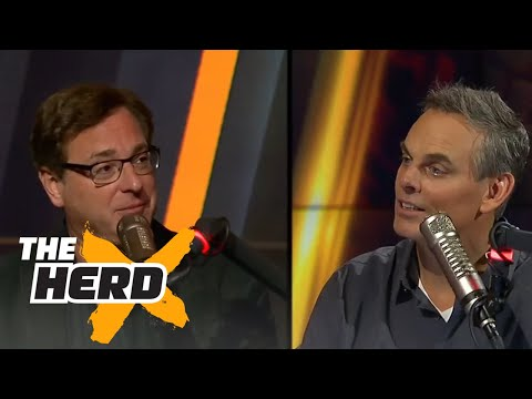 Bob Saget joins Colin Cowherd | THE HERD (FULL INTERVIEW)