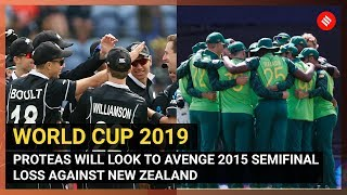 SA vs NZ World Cup 2019: South Africa Look To Avenge 2015 Semifinal Defeat