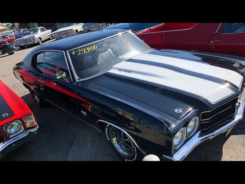 1970 Chevy Chevelle Big Block $27,900 Maple Motors