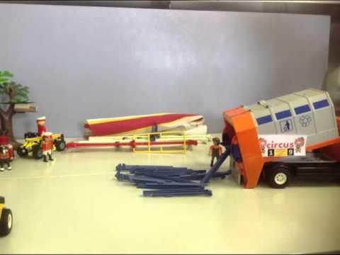 Circus opbouw Playmobil(muziekversie)