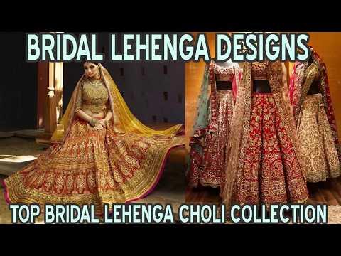 Latest Bridal Lehenga Choli Designs Collection