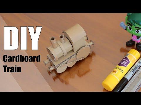 DIY - Cardboard Train