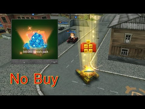 Tanki Online Non Buy Road To Legend #4 - Opening 300.000 Crystals!! - Shinichy