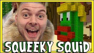 Minecraft - SQUEAKY SQUID - The Lab/Build Battles!