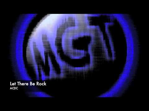Let There Be Rock Backing Track - ACDC