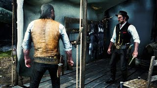 RDR2 John Marston & Dutch Arguing (John is Angry) - Red Dead Redemption 2