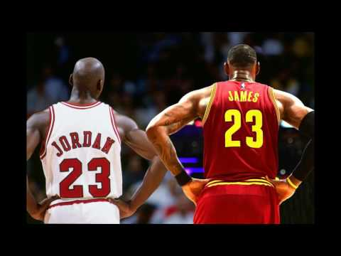 Michael Jordan and Lebron James are not friends and never will be