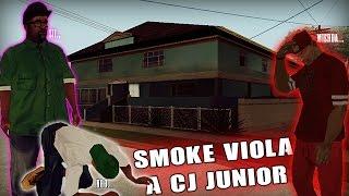 SMOKE VIOLA A CJ JUNIOR  Gta San Andreas (Loquendo)