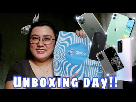 Unboxing Day! | New phone from Globe | Joanna Marie