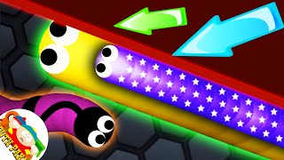 Slither.io - BAD ANGRY SNAKE #4// SLITHER.IO GAMEPLAY (Slitherio Funny/Best Moments)