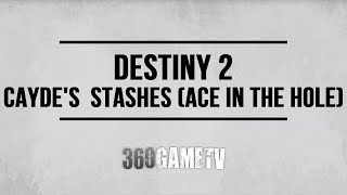 Video Destiny 2 Cayde's Personal Stashes Locations (Ace in the Hole Quest Step - Cayde's Will Quest) download MP3, 3GP, MP4, WEBM, AVI, FLV November 2019