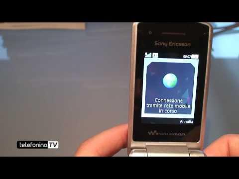 Sony Ericsson W508 videoreview da telefonino.net