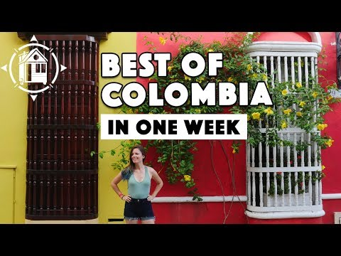 One Week in Colombia. Best of Bogota & Cartagena!