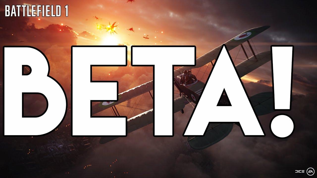 how to get battlefield 1 beta