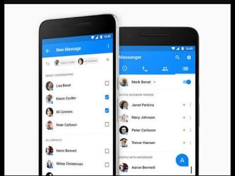 Facebook messenger se contect number kaise nikale   ?