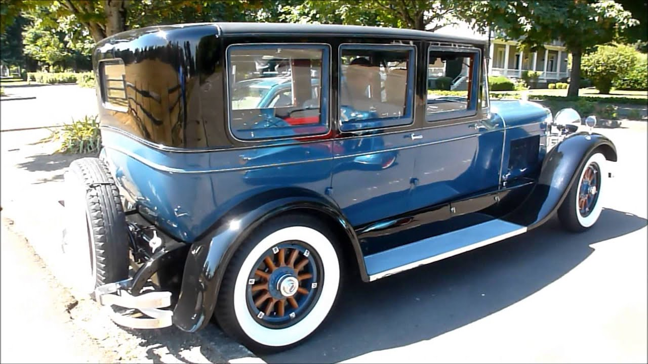 Fabulous 1927 Lincoln - YouTube