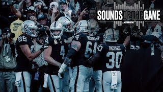 Sounds of the Game: Week 9 vs. Lions | Raiders