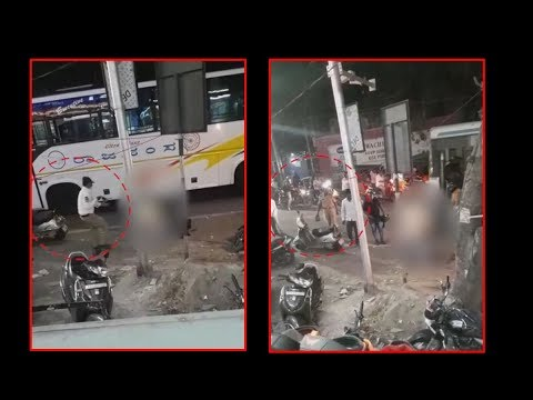 On cam: Man stabbed to death in presence of police in Hyderabad