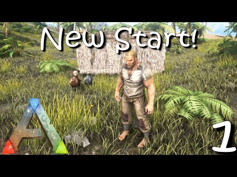 ARK Survival Evolved - Getting Started Again! - S2Ep1 Gameplay/ Walkthrough