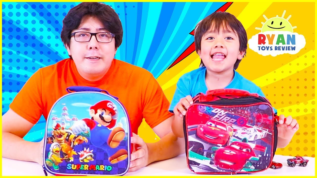 Back To School LunchBox Switch Up Challenge + BackPack Switch Up!!!
