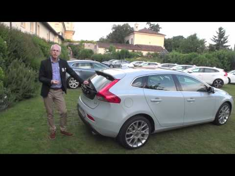 The New Volvo V40 D4, first drive