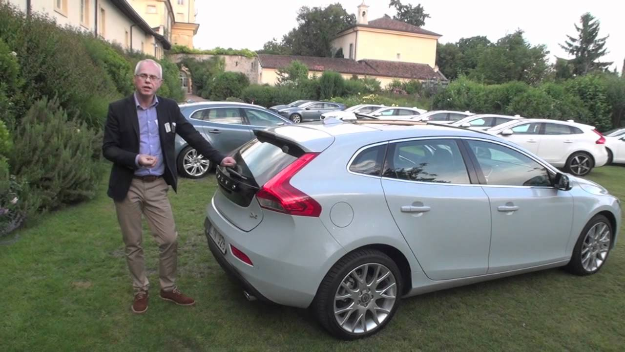 the new volvo v40 d4 first drive youtube. Black Bedroom Furniture Sets. Home Design Ideas