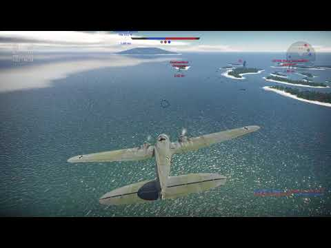 War Thunder Naval Forces - Z20 gameplay