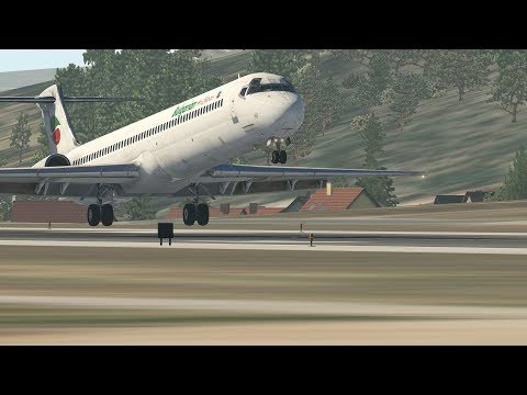 [X-Plane 11] Maddog Captain fly with the Maddog Approach&Landing to Split (Orto4xp)
