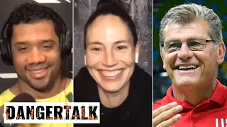 Sue Bird Talks The Storm's 2020 WNBA Title And Shares UConn Stories With Russell Wilson | DangerTalk
