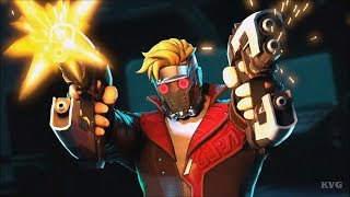 Marvel Ultimate Alliance 3: The Black Order - Star-Lord Gameplay (Nintendo Switch HD) [1080p60FPS]