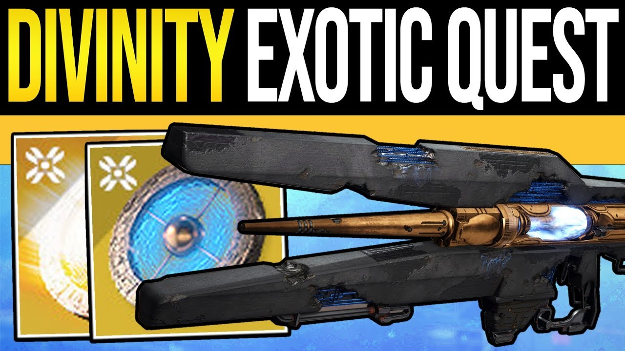 Destiny 2 | How to Get DIVINITY Exotic Quest! Hidden Room & Empowered  Decryption Core (Shadowkeep) - YouTube