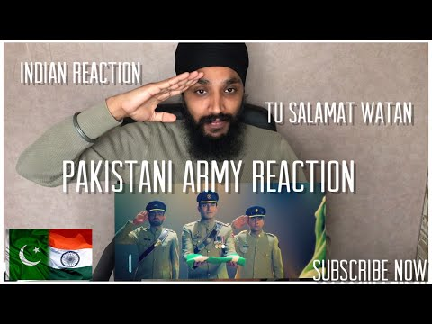 Tu Salamat Watan | Pakistani Army Song Reaction