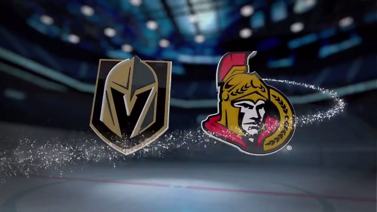 Image result for ottawa senators vs vegas golden knights