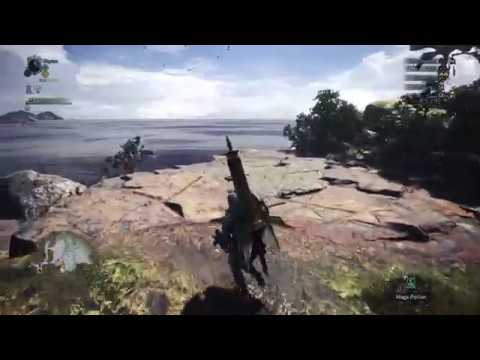 Monster Hunter: World Beta Ancient Forest Exploration 2 pt1