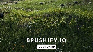 Brushify Bootcamp - Procedural Grass Tool in UE4
