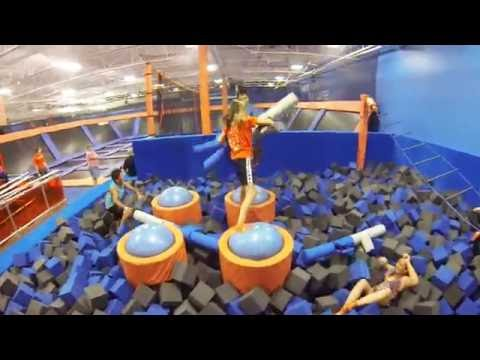 sky zone st catharines opening day youtube. Black Bedroom Furniture Sets. Home Design Ideas