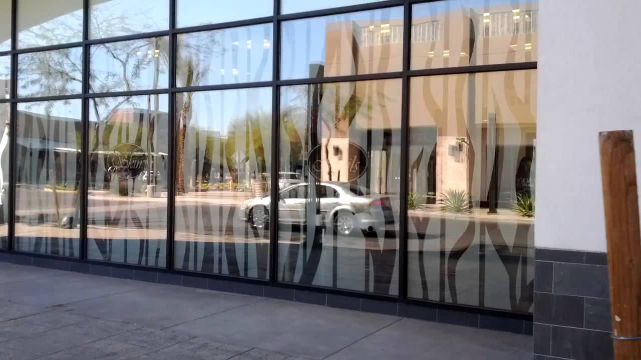 Salon window graphics - Hyper Graphix 1 of 2 - YouTube