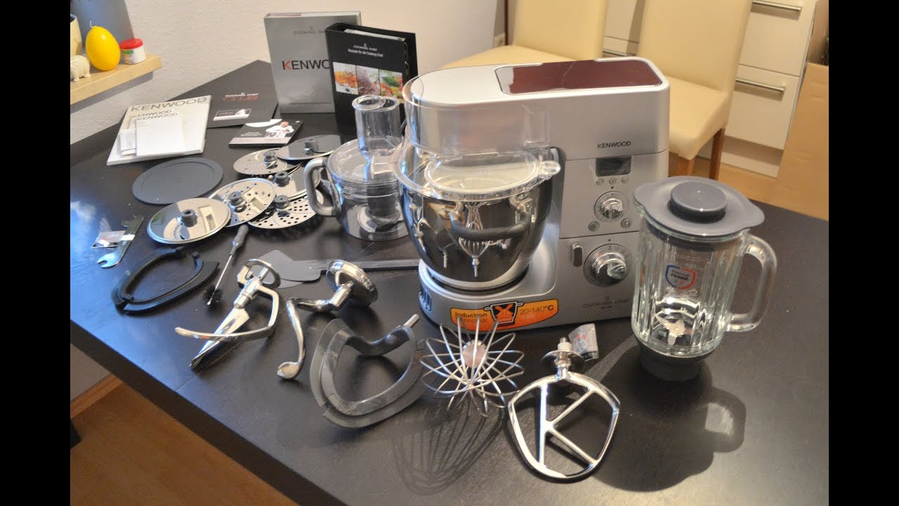 Comprar Robot De Cocina Kenwood Kenwood Cooking Chef Km086 Unboxing Youtube