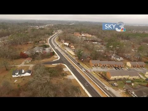 East Brainerd lane shift scheduled for Thursday