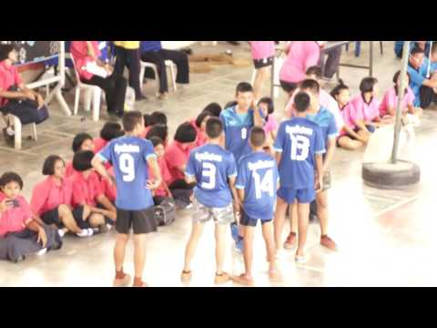 การแข่งขันวอลเลย์บอลชายรอบชิงชนะเลิศ 3/1& 3/15 ระดับชั้นมัธยมศึกษาปีที่ 3