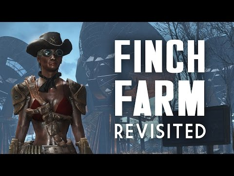"Finch Farm Revisited - Fallout 4 ""Lived-in"" Settlement Build"