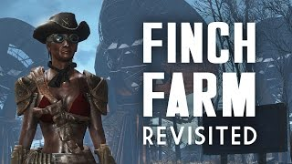 Finch Farm Revisited - Fallout 4 Lived-in Settlement Build