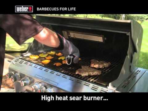 weber sear grill youtube. Black Bedroom Furniture Sets. Home Design Ideas