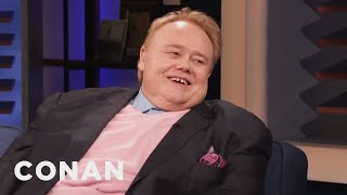 Louie Anderson Offered To Kill His Dad - CONAN on TBS